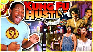 KUNG FU HUSTLE (2004) Movie Reaction *FIRST TIME WATCHING*   THINK I FOUND MY NEW FAVORITE COMEDY!