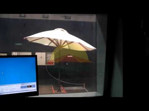 Bambrella - Yacht - Wind Tunnel Test