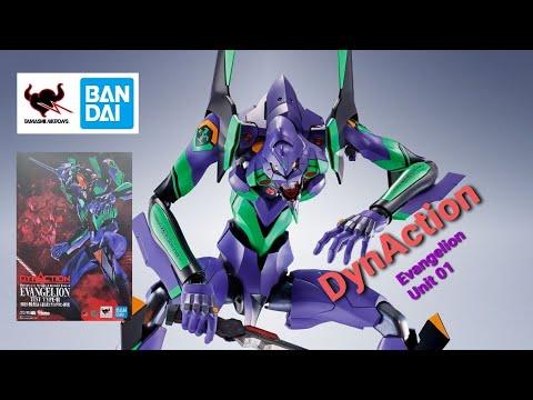 Bandai Tamashii Nations DynAction Evangelion Unit 01 Retail Impressions