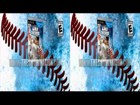 PS3 Baseball Game - MLB 11 The Show ad in 3d