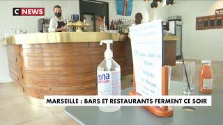 Marseille : bars et restaurants ferment ce soir