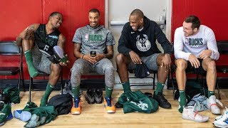 All-Access: Milwaukee Bucks Training Camp 2019 | Restricted Area