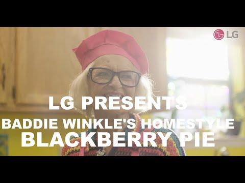 LG Presents - Baddie Winkle's Homestyle Blackberry Pie
