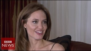 'I have a very fortunate life' Angelina Jolie - BBC News