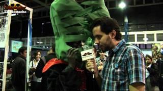 El Mostacho en el Caracas Comic Con