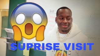 DAMIEN PRINCE REVISITS HIS OLD HIGH SCHOOL!!