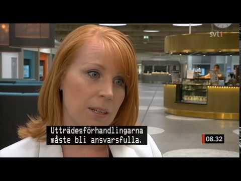 Annie Lööf om Brexit