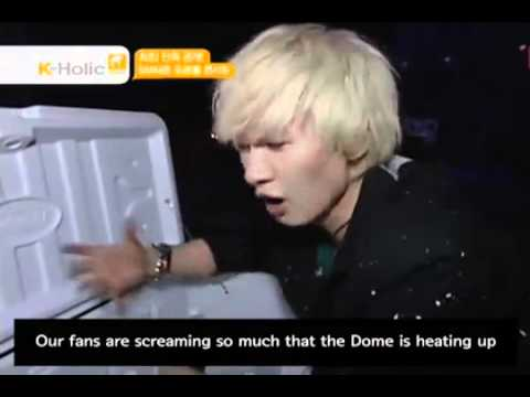 Super Junior Backstage SMTown Tokyo Dome  [Eng Sub]