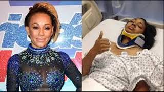 SPICE GIRLS STAR MEL B  - RUSHED TO HOSPITAL!!