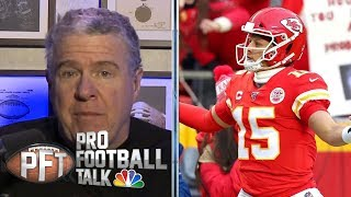 Inside Kansas City Chiefs locker room after AFC Championship | Pro Football Talk | NBC Sports
