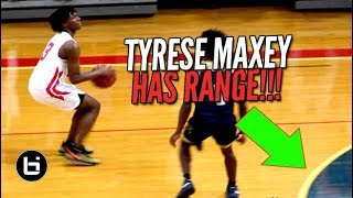 """""""WE GONNA FIND OUT WHO'S BAG IS BETTER?"""" Tyrese Maxey VS RJ Hampton Full Highlights"""
