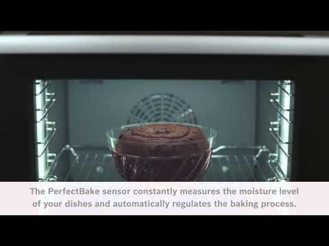 PerfectBake sensor i Bosch Serie 8 ovner