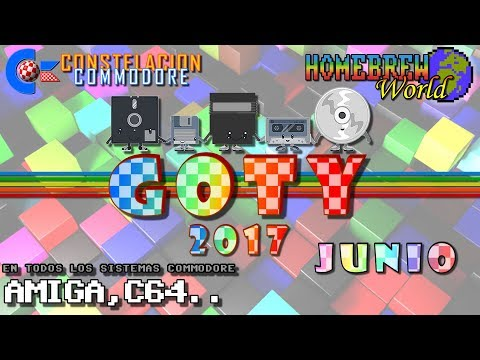 GOTY 2017 CC Junio Juegos Amiga, C64, Plus4, VIC20.. | Homebrew World #0010