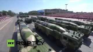 Video lễ Duyệt binh Trung Quốc ngày 3-9-2015 - Bản Full