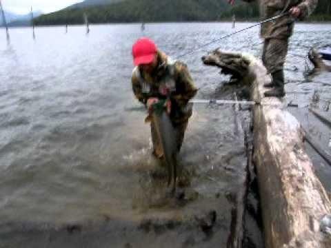 Рыбалка на Енисее. Щука 10 кило