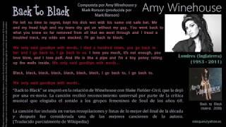 Back to Black (Amy Winehouse / Mark Ronson) - Amy Winehouse