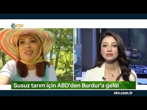 NTV   Susuz tarım için ABD'den Burdur'a geldi