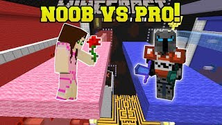Minecraft: NOOB VS PRO!! - THE PRICE IS RIGHT - PLINKO - Mini-Game