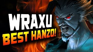 World Rank #1 Hanzo - Wraxu! He's Best! [ OVERWATCH SEASON 14 TOP 500 ]