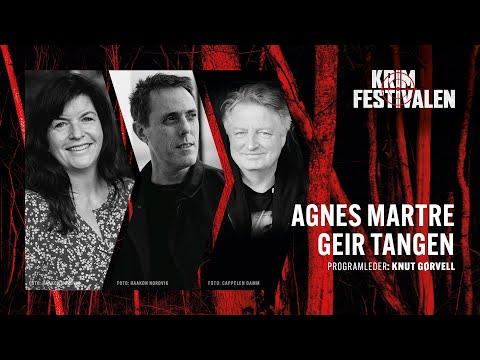 Par i krim og kjærlighet – møte med Geir Tangen og Agnes Lovise Matre