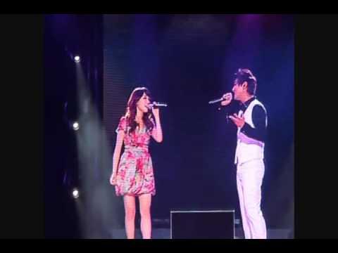 2010.07.24 Kangta Beijing Concert - Kangta & Zhang Li Yin - 7989 Fancam
