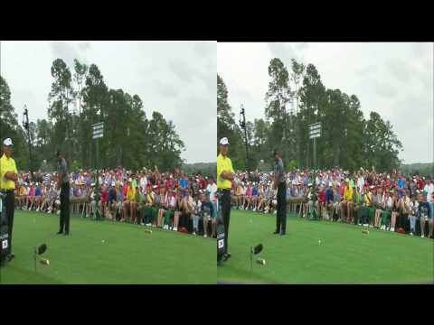 Tiger Woods Returns To Golf (Short clip) 3D clip