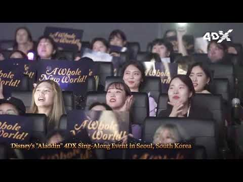 """Aladdin"" in 4DX Creates a New Movie-viewing Culture in Asia and Europe"