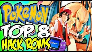 🔴 TOP 8 BEST GBA HACK ROMS POKEMON ¡In Existence! ★ SpanglishTec