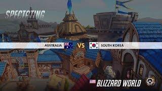 South Korea vs Australia (Game 2, Jjonak Play) | Overwatch World Cup 2018: Quarter Final
