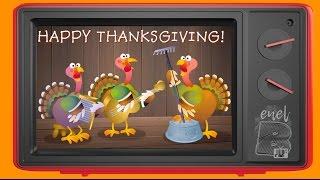 Happy Thanksgiving - ¡Gracias a Ti! - Feliz Dia de Accion de Gracias