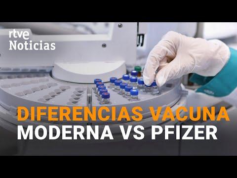La farmacéutica Moderna asegura que su VACUNA tiene una EFECTIVIDAD del 94,5% | RTVE