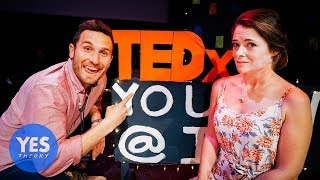 Challenging a Strangers to give a TED Talk in a Foreign Country.