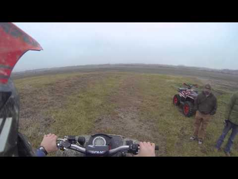 Can Am Outlander 800 Wheelie