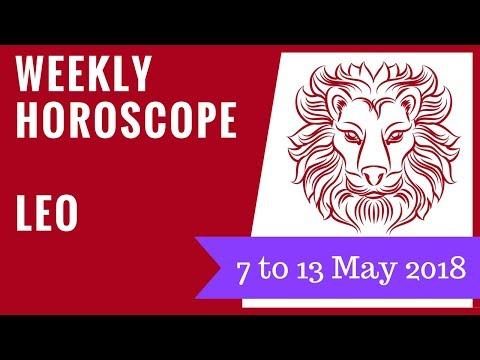 Leo weekly horoscope 7 to 13 May 2018