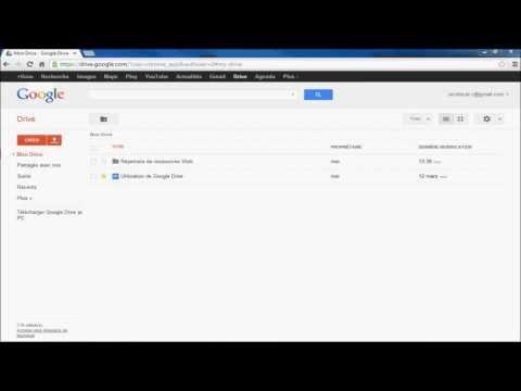 Vue d'ensemble de Google Drive (1/7)