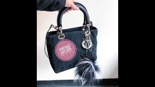 Best Vintage Bag Ever!!! Lady Dior Review