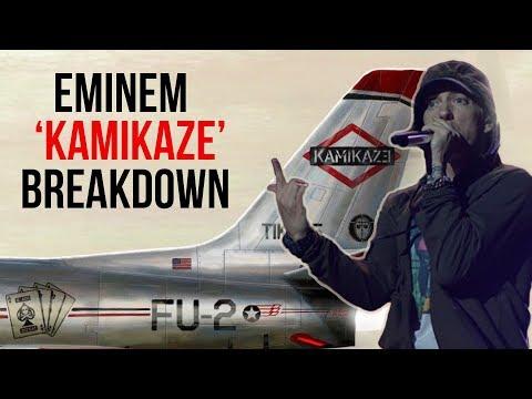 Eminem Disses Drake, Lil Pump, Tyler The Creator, Joe Budden, Machine Gun Kelly & More On 'Kamikaze'