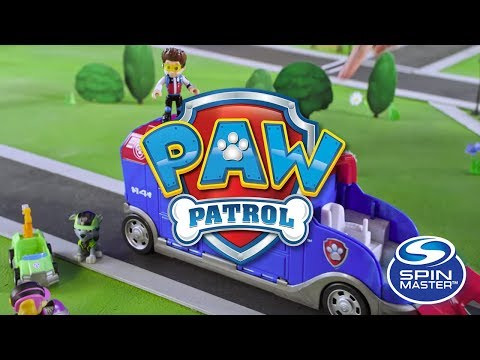 video Autobús Paw Patrol Mission Cruiser