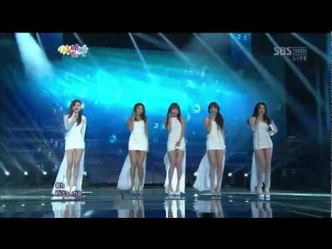 미스틱 화이트 (Mistic white) [인어공주 (Mermald)] @SBS gayodaejun 가요대전 20121229