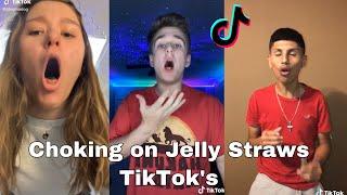 Choking on Jelly Straws TikTok's