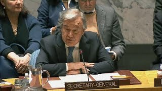UN Secretary-General on Non-Proliferation / DPR Korea - Security Council (15 December 2017)
