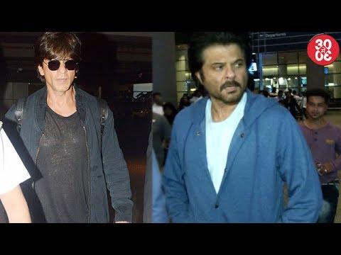 Shahrukh Khan Plays It Cool At The Airport | Anil Kapoor Returns Post 'Mubarakan' Promotions