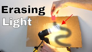 Is it Possible to Erase Light With a Laser? The Photon Experiment