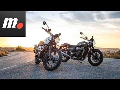 Triumph Street Twin/Scrambler | Presentación / Primera Prueba / Test / Preview en español HD