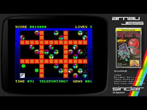 SNARE Zx Spectrum by Enigma Soft. Dev.