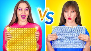 LUCKY VS UNLUCKY STUDENT    Funny Struggles and Awkward Moments by 123 GO Like!