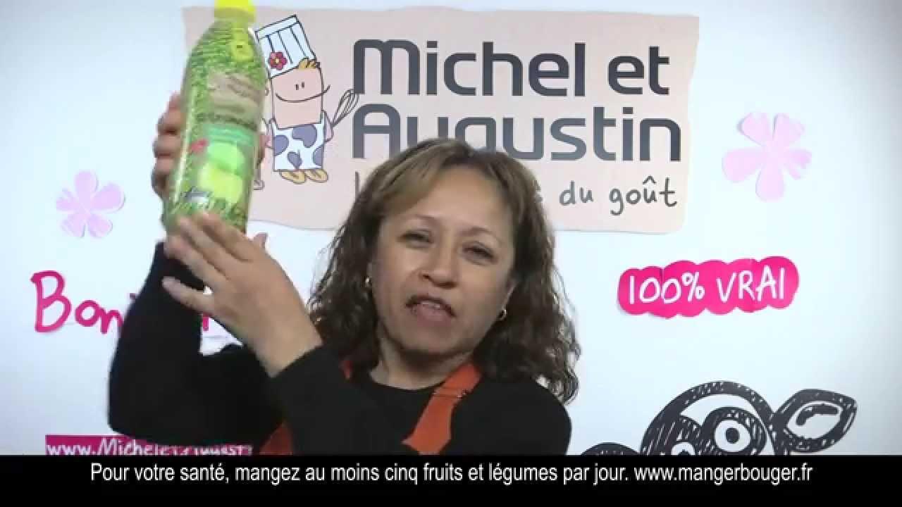 Publicité Michel et Augustin – la citronade de Mari Sol