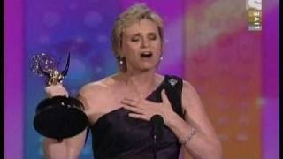 Glee Jane Lynch Emmy Award winner Speech