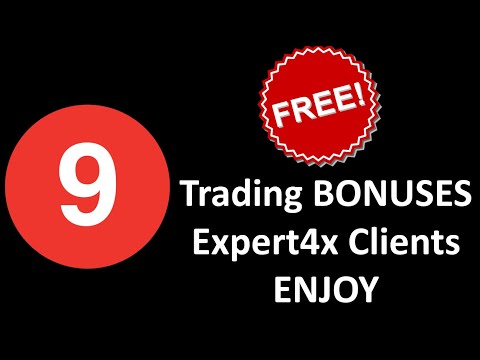 9 Free trading Bonuses Expert4x clients receive. See these Free Eas, indicators & trading tools.