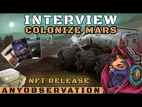 Time to Colonize Mars! | Interview with upcoming NFT project